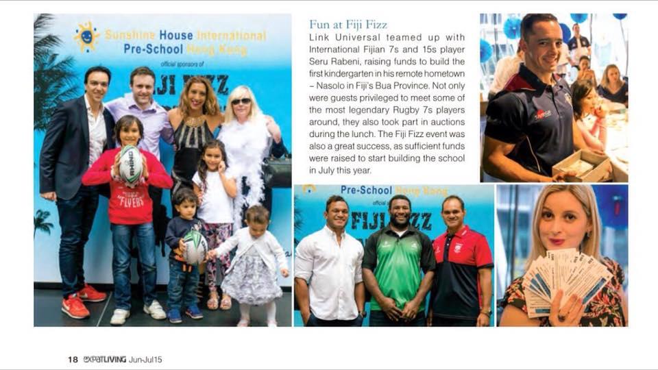 ex pat living mag link universal fiji fizz fundraiser feature