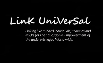 Link Universal logo black FB with final text